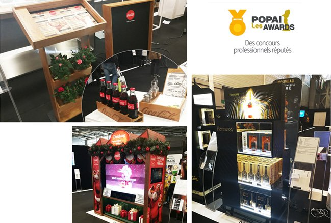 3 nominations for ATS Display in the POPAI France contest!