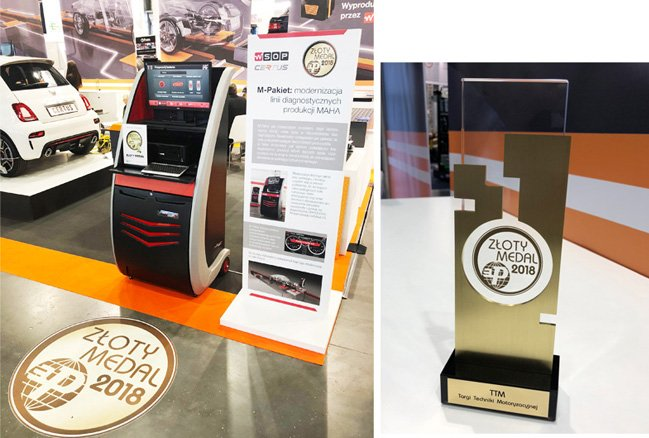Diagnostic cabinet Certus EVO2 awarded at the Motor Show in Poznań!