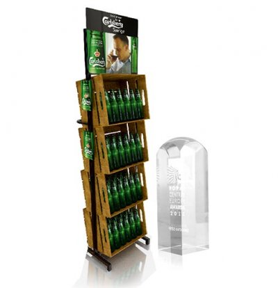 Beer Display Carlsberg