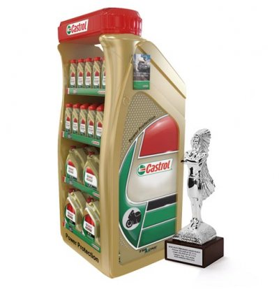 Castrol Floor Display