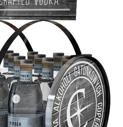 Advertising Stand Craft Distillery