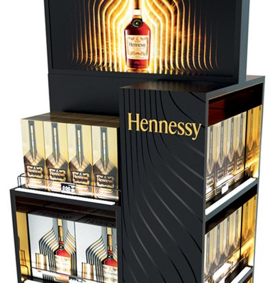 POS Display Hennessy