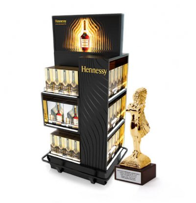 Hennessy POS Display